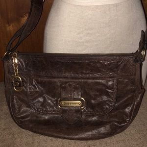 Juicy Couture - Brown leather shoulder bag
